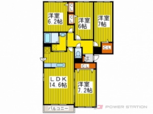 札幌市豊平区月寒中央通8丁目1賃貸マンション間取図面