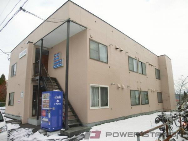 札幌市豊平区西岡4条8丁目0賃貸アパート外観写真