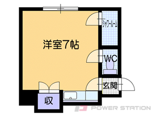 札幌市豊平区西岡4条8丁目0賃貸アパート間取図面
