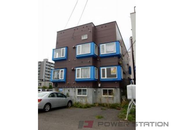 札幌市豊平区水車町5丁目1賃貸アパート外観写真