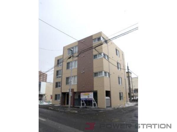 札幌市豊平区美園9条2丁目0賃貸マンション外観写真