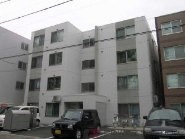 札幌市豊平区美園7条1丁目0賃貸マンション外観写真