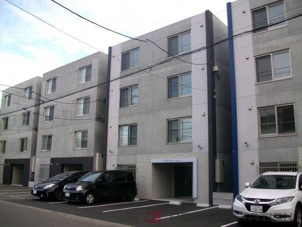 札幌市豊平区平岸2条3丁目0賃貸マンション外観写真