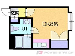 志文1Rマンション図面