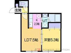 アパート・Zeruch(ゼルク)