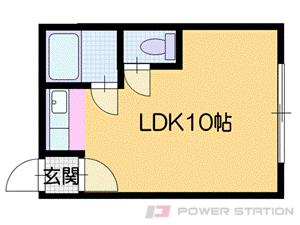 志文1Rアパート図面