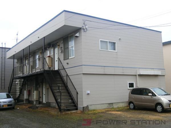 岩見沢市8条東3丁目0賃貸アパート外観写真