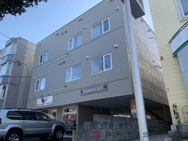 札幌市清田区南郷18丁目駅賃貸アパート 1LDK