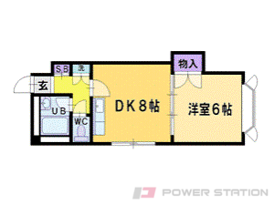 札幌市清田区北野7条3丁目0賃貸マンション間取図面