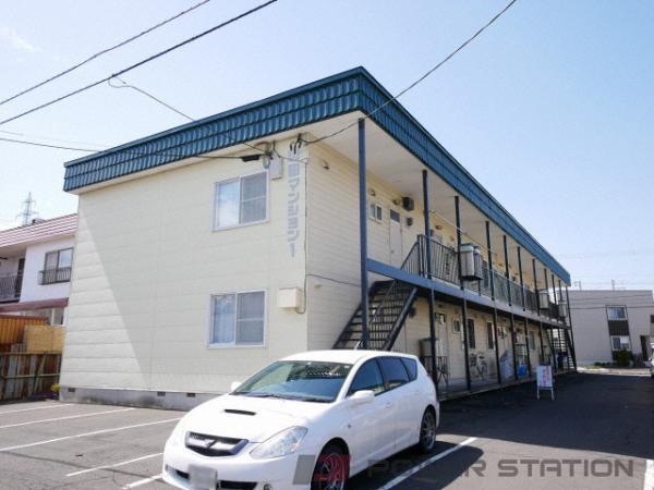札幌市清田区北野5条2丁目0賃貸アパート外観写真