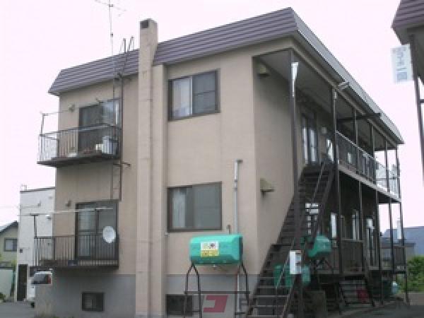 札幌市清田区北野5条3丁目0賃貸アパート外観写真