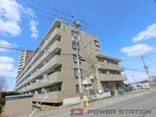 札幌市清田区北野6条2丁目1分譲リースマンション外観写真