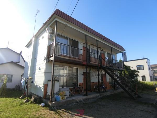 札幌市清田区北野5条5丁目0賃貸アパート外観写真