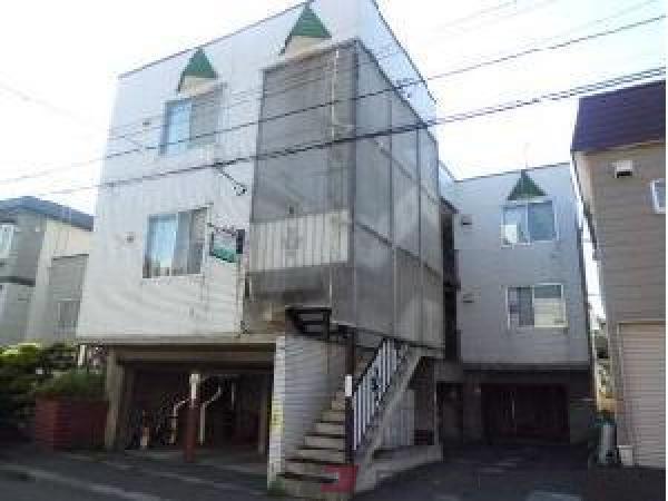 札幌市清田区北野2条1丁目0賃貸アパート外観写真