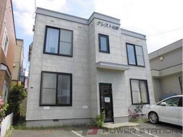 札幌市清田区北野2条1丁目1賃貸アパート外観写真