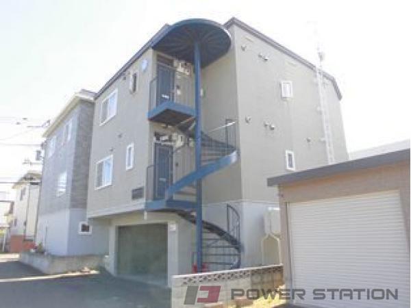 札幌市清田区北野1条1丁目1賃貸アパート外観写真