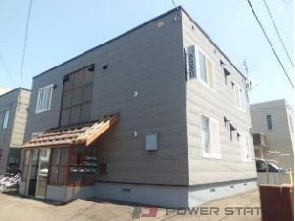 札幌市清田区北野1条1丁目0賃貸アパート外観写真