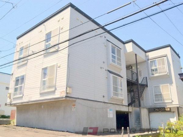札幌市清田区北野2条2丁目1賃貸アパート外観写真