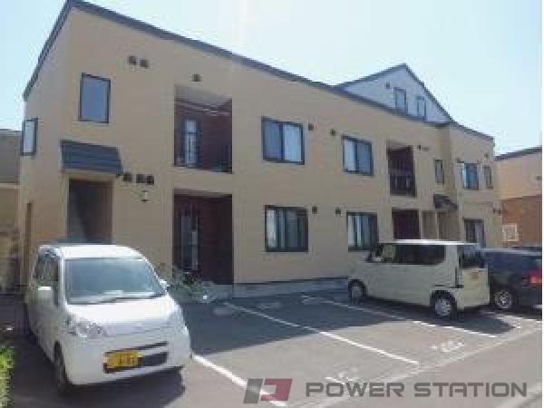 札幌市清田区平岡6条2丁目0賃貸アパート外観写真