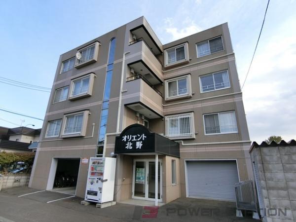 札幌市清田区北野2条3丁目0賃貸マンション外観写真