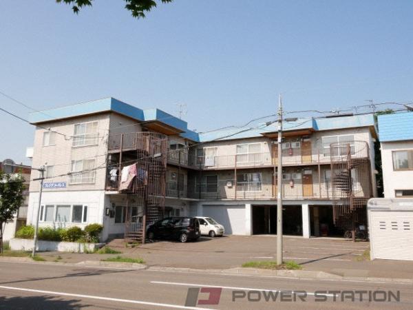 福住2LDKアパート外観