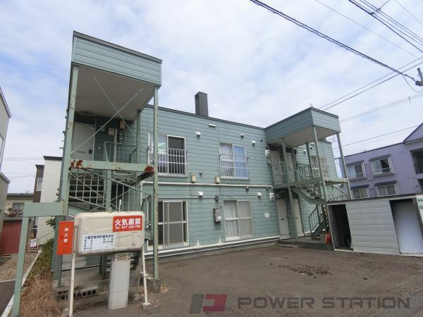 札幌市清田区北野3条5丁目1賃貸アパート外観写真