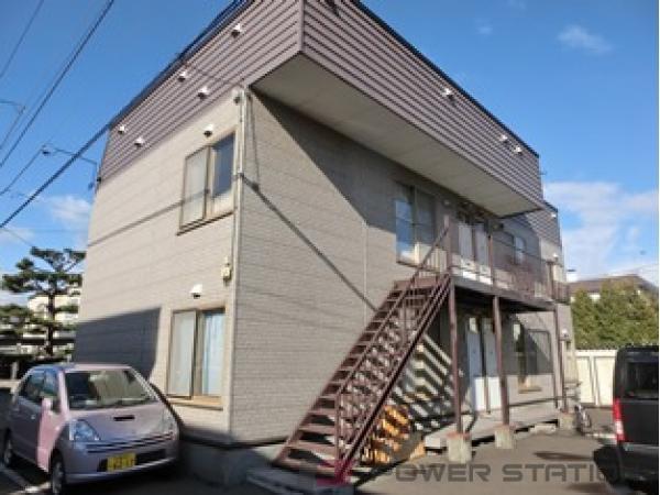札幌市清田区北野3条5丁目0賃貸アパート外観写真