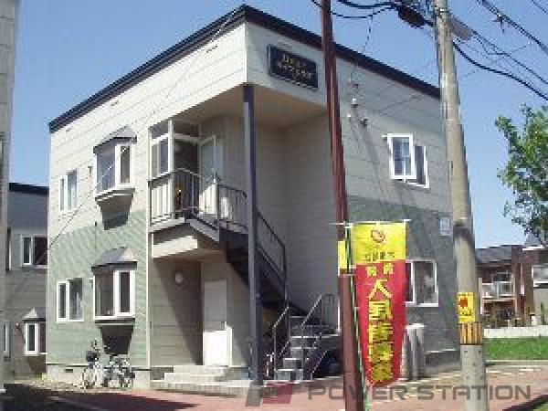 札幌市清田区平岡公園東6丁目0賃貸アパート外観写真
