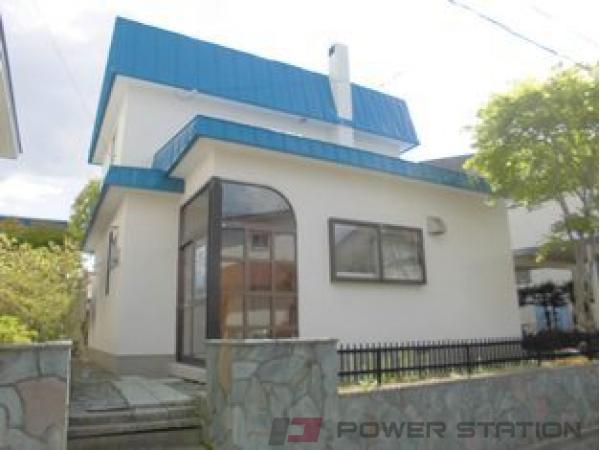 札幌市清田区里塚1条2丁目1一戸建貸家外観写真