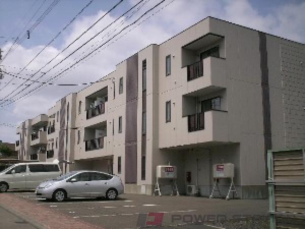 上野幌2LDKマンション外観