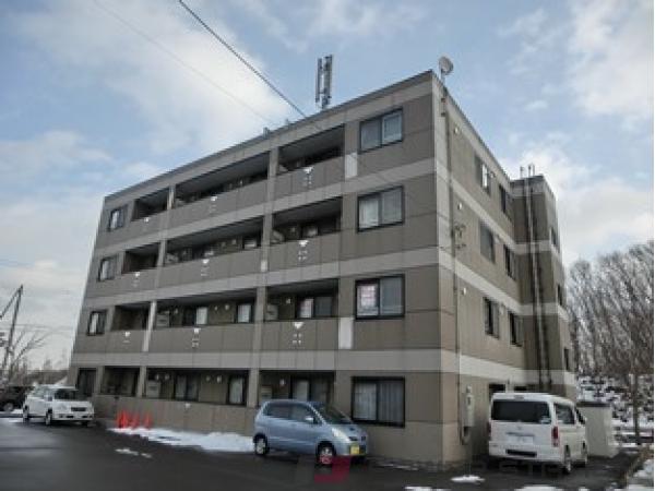 札幌市清田区平岡公園東8丁目1賃貸マンション外観写真