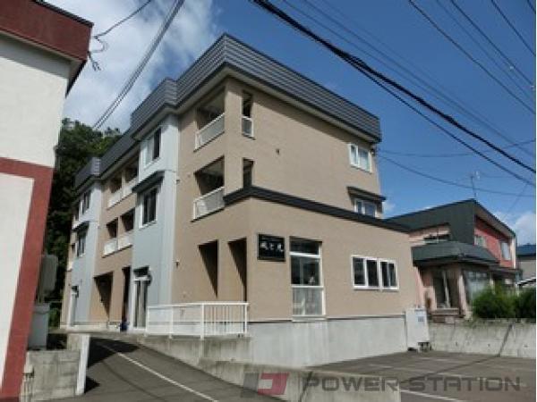 札幌市清田区清田3条1丁目0賃貸アパート外観写真