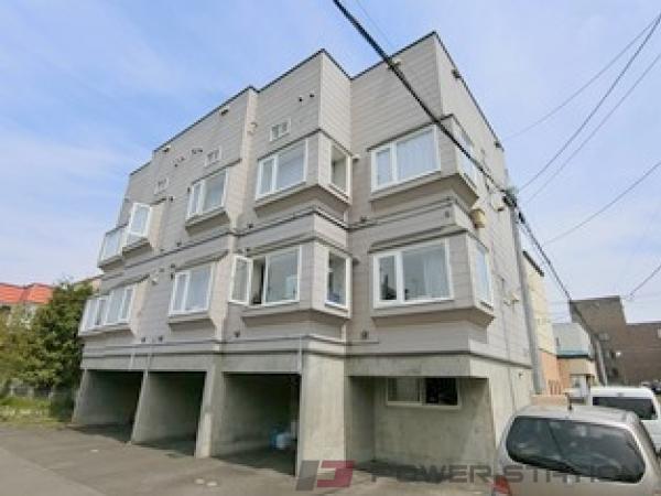 札幌市清田区清田2条1丁目1賃貸アパート外観写真