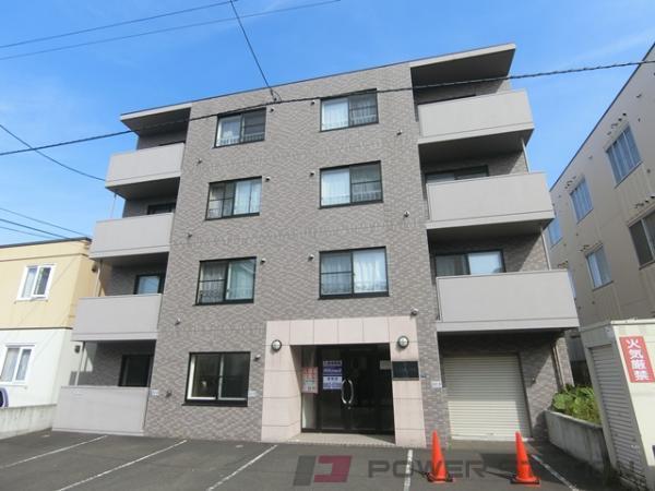 札幌市清田区清田3条1丁目1賃貸マンション外観写真