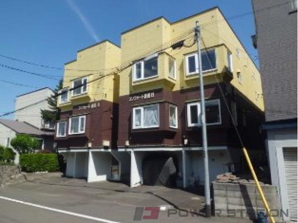 札幌市清田区清田3条1丁目1賃貸アパート外観写真