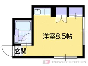 札幌市清田区清田3条2丁目0賃貸アパート間取図面