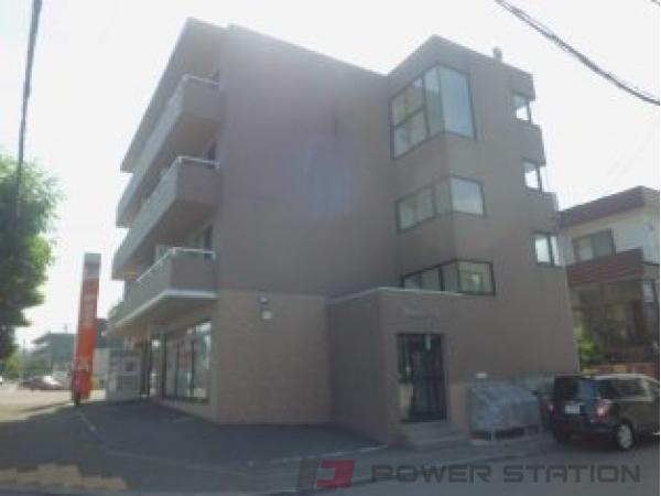 札幌市清田区清田2条2丁目0賃貸マンション外観写真