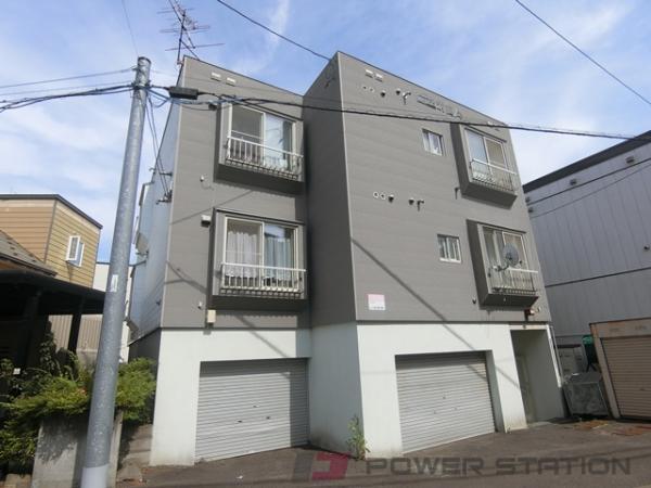 札幌市清田区清田2条2丁目0賃貸アパート外観写真
