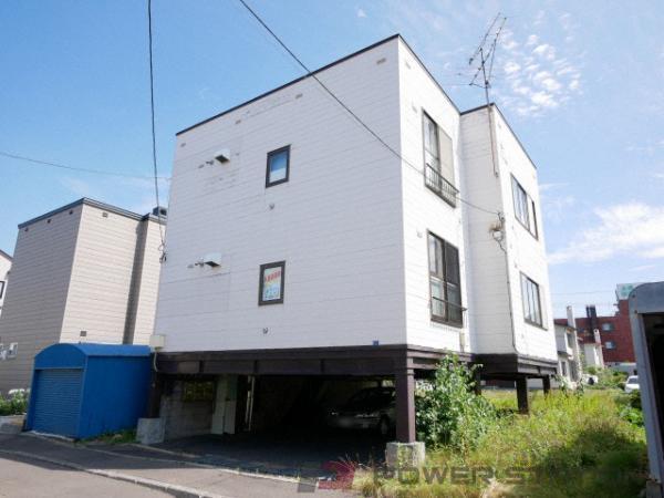 札幌市清田区平岡2条1丁目0賃貸アパート外観写真