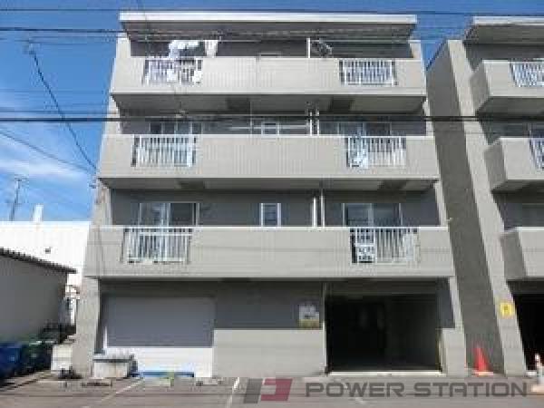 札幌市清田区真栄1条1丁目0賃貸マンション外観写真