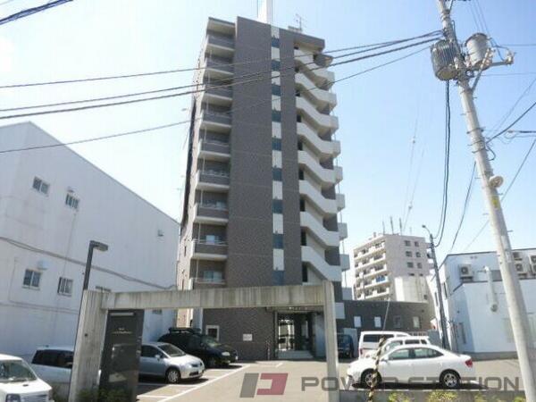 札幌市清田区平岡1条1丁目0賃貸マンション外観写真