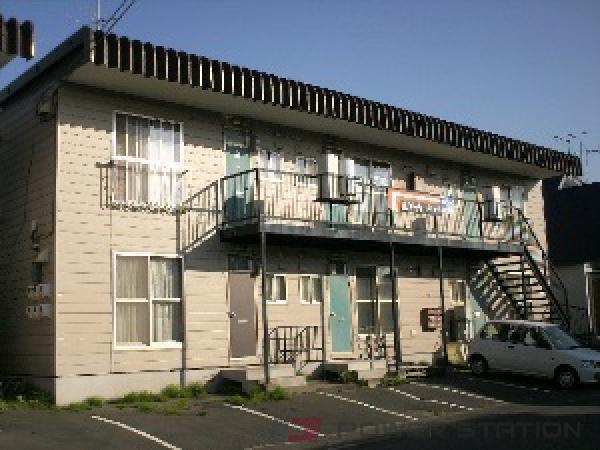 札幌市清田区平岡2条3丁目0賃貸アパート外観写真