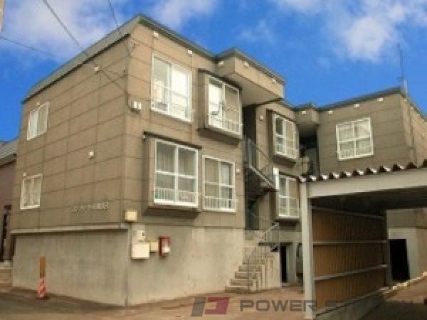 札幌市清田区平岡3条3丁目0賃貸アパート外観写真