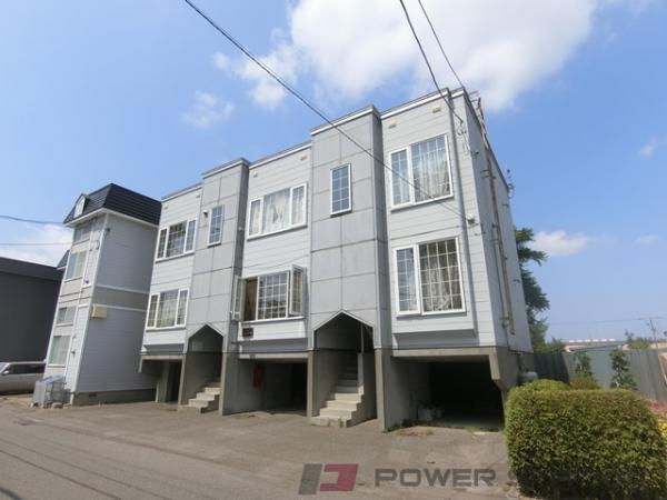 札幌市清田区平岡2条4丁目0賃貸アパート外観写真