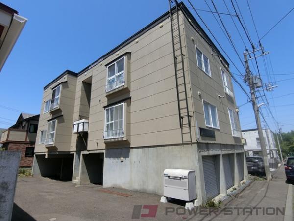札幌市清田区平岡3条4丁目0賃貸アパート外観写真