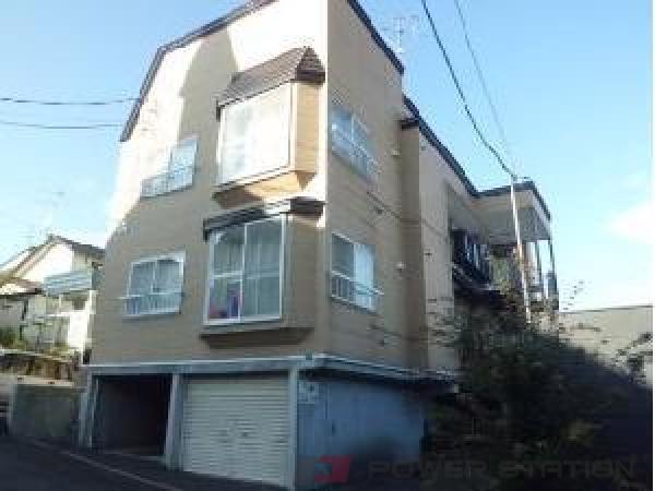 札幌市清田区清田6条2丁目0賃貸アパート外観写真