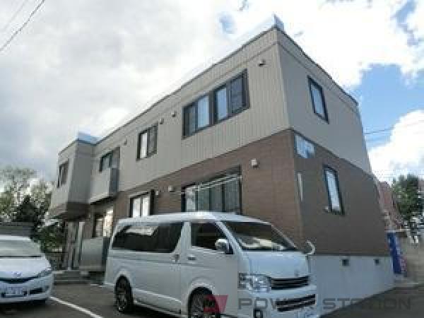 札幌市清田区清田6条2丁目0賃貸マンション外観写真