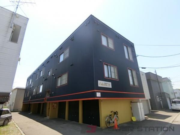 札幌市清田区真栄2条1丁目0賃貸アパート外観写真