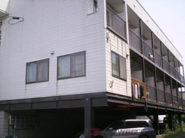 札幌市清田区真栄2条1丁目1賃貸アパート外観写真