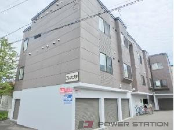 札幌市清田区真栄1条2丁目1賃貸マンション外観写真